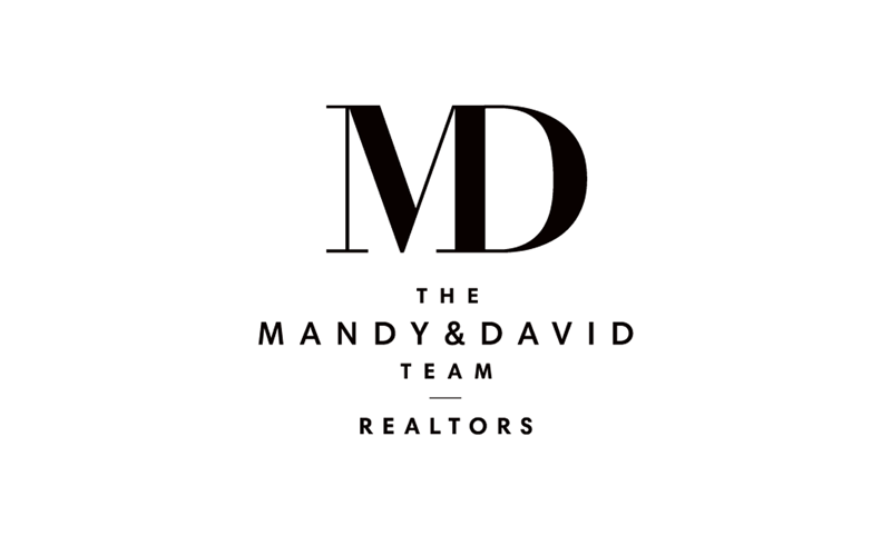 Mandy & David logo