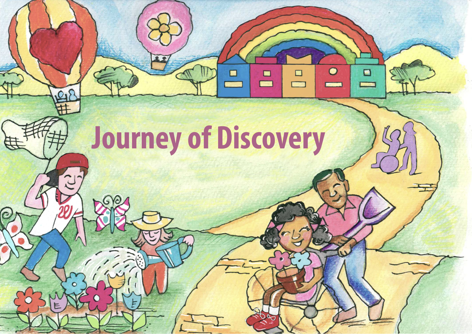 journey of discovery illustration